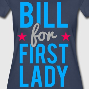 Bill Clinton for First Lady - Women's Premium T-Shirt