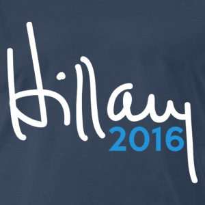 Hillary 2016 Signature - Men's Premium T-Shirt