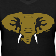 Design ~ Hellaphant Metallic Gold