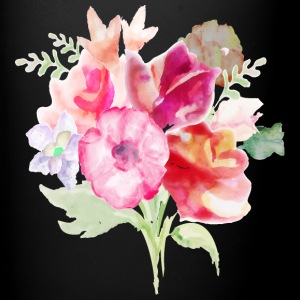 Watercolor Bouquet - Full Color Mug