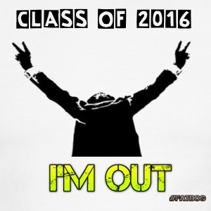 2016 Graduation I'm Out - Men's Ringer T-Shirt