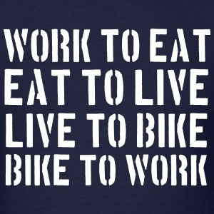 BIKE TO WORK T-SHIRT - Men's T-Shirt