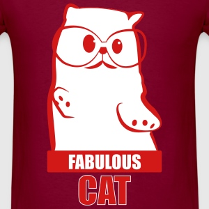 Fabulous Cat T-Shirts - Men's T-Shirt