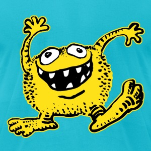 Cuddly Cartoon Monster by Cheerful Madness!!  T-Shirts - Men's T-Shirt by American Apparel