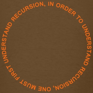 Recursion T-Shirts - Men's T-Shirt