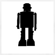 Design ~ Casual Ghosts Robot T-shirt