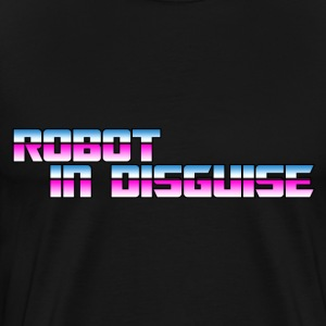 Robot in Disguise Evil - Men's Premium T-Shirt