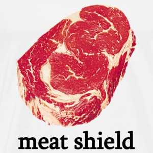 Meat Shield - Men's Premium T-Shirt