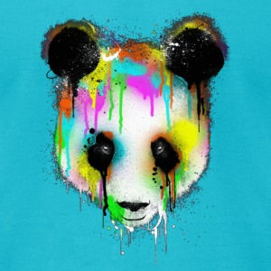 Graffiti Bear T-Shirts - Men's T-Shirt by American Apparel