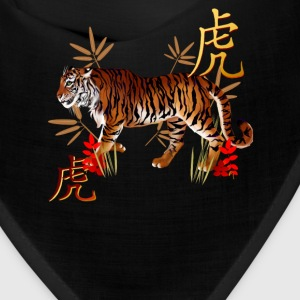 YEAR OF THE TIGER-Symbols - Bandana