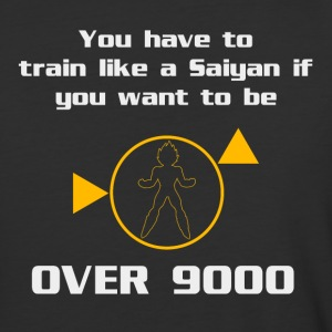 Train To Be Over 9000 T-Shirts - Baseball T-Shirt