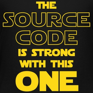 THE SOURCE CODE IS STRONG WITH THIS ONE Kids' Shirts - Kids' Premium T-Shirt