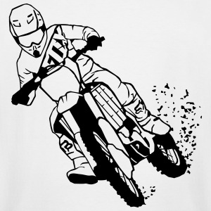 Moto Cross T-Shirts - Men's Tall T-Shirt
