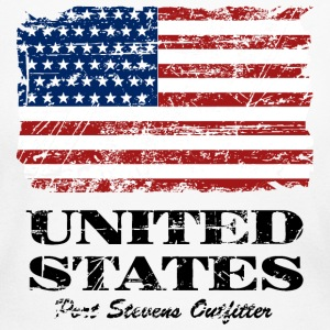 USA Flag - Vintage Look Long Sleeve Shirts - Women's Long Sleeve Jersey T-Shirt