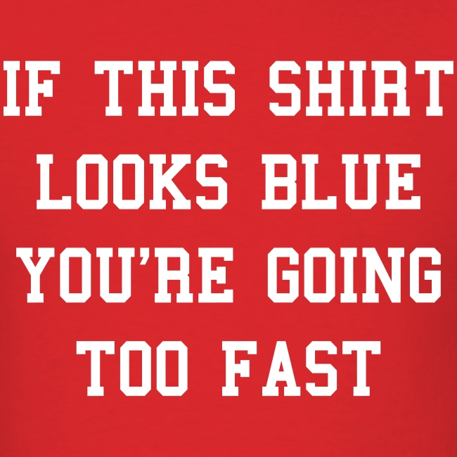 If this shirt looks blue...