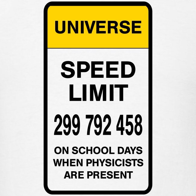 Speed limit of universe