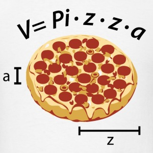 Pizza Volume T-Shirts - Men's T-Shirt
