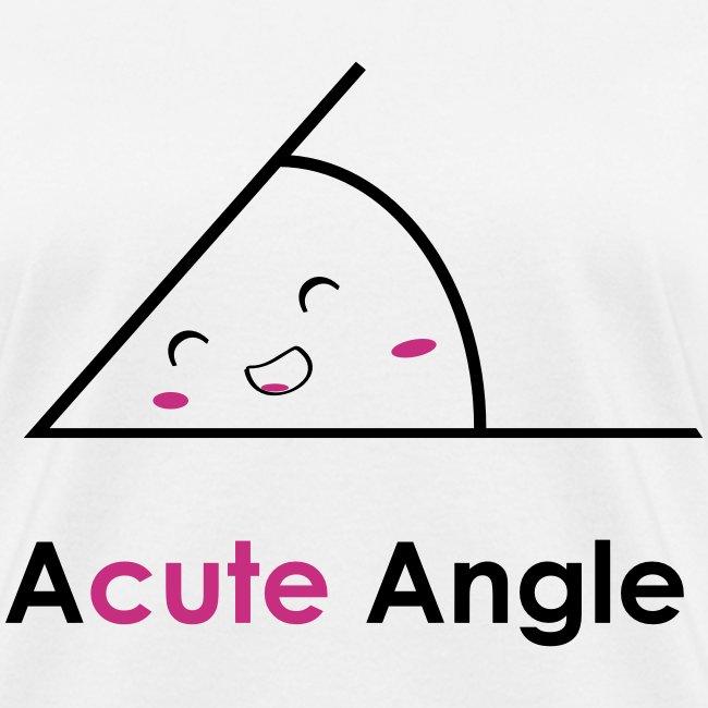 Acute angle (F)