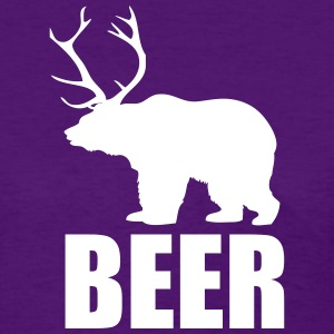 Beer - Bear and Deer Women's T-Shirts - Women's T-Shirt