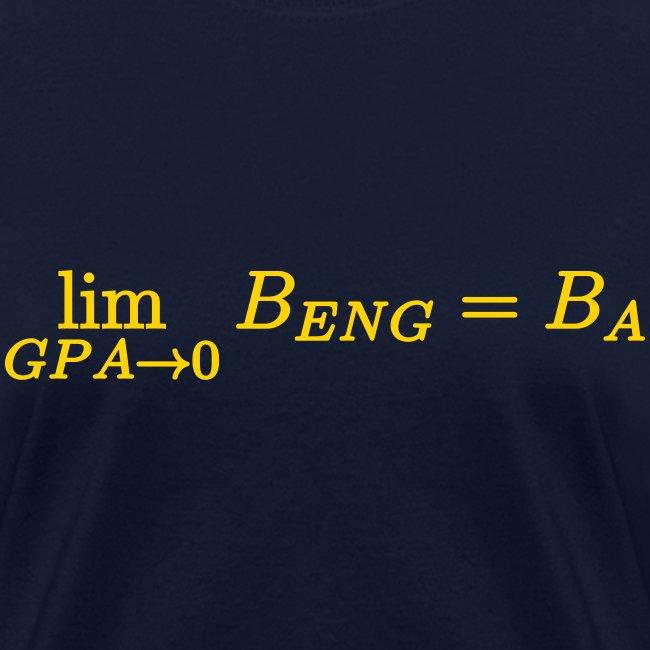 Limit GPA to zero (Engineering) (F)