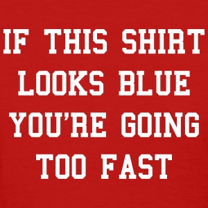 If this shirt looks blue Women's T-Shirts - Women's T-Shirt