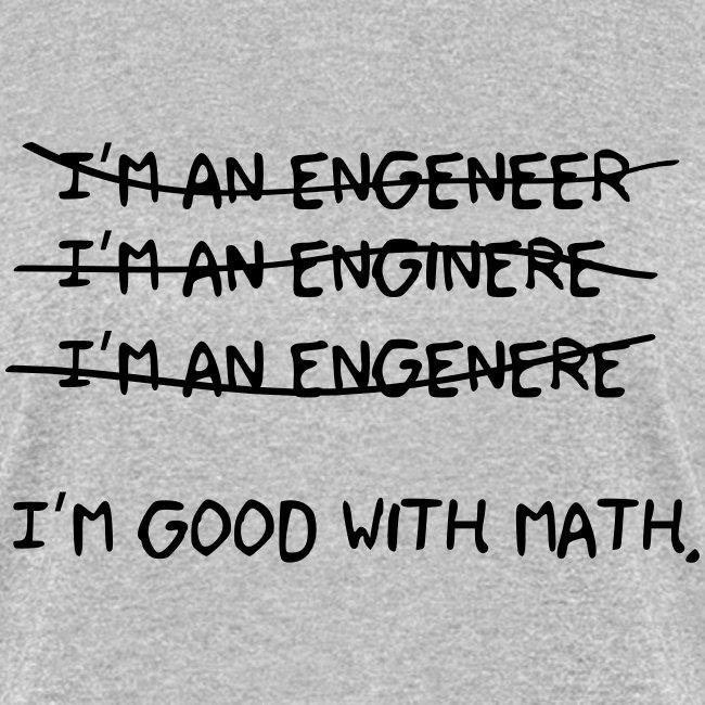 I'm an engineer (F)