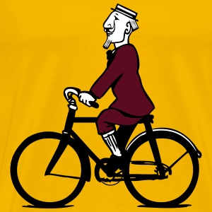 cycling gentleman T-Shirts - Men's Premium T-Shirt