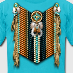 Native American Breastplate 15 - Men's T-Shirt by American Apparel