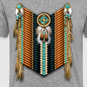 Native American Breastplate 15 - Men's Premium T-Shirt