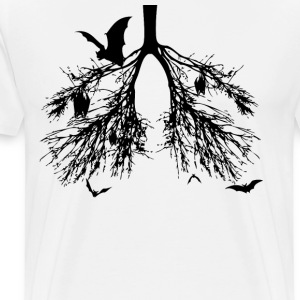 Bats in My Lungs T-Shirts - Men's Premium T-Shirt