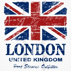 Union Jack Flag - Vintage Look Hoodies