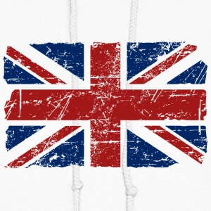 Union Jack Flag - Vintage Look Hoodies - Women's Hoodie