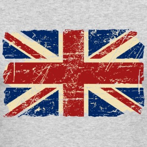 Union Jack Flag - Vintage Look Long Sleeve Shirts - Men's Long Sleeve T-Shirt by Next Level