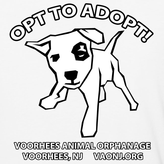 Opt to Adopt Baseball Shirt