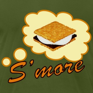 funny retro smore - Men's T-Shirt by American Apparel