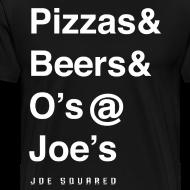 Design ~ pizzas&beers&joe's men's