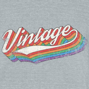 Vintage used - Unisex Tri-Blend T-Shirt by American Apparel
