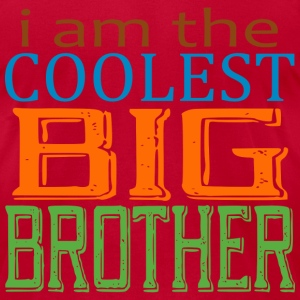 Coolest Big Bro - Men's T-Shirt by American Apparel