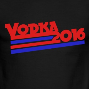 Vodka 2016 drinking humor - Men's Ringer T-Shirt