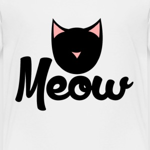Meow kitty - Toddler Premium T-Shirt