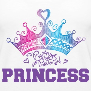 Pretty Powerful Princess Tanks - Women's Premium Tank Top