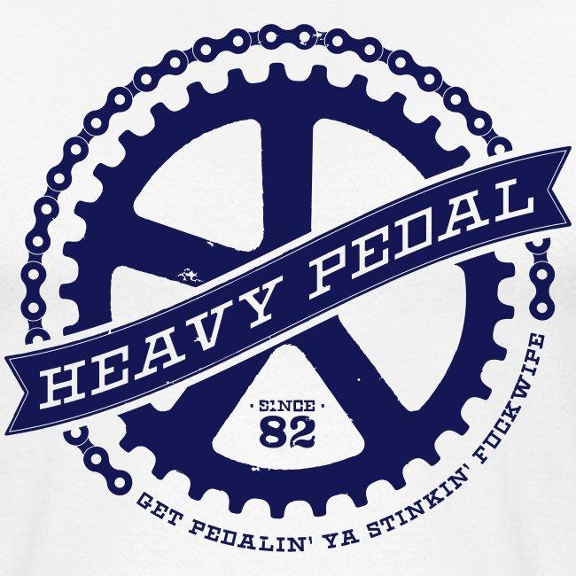 Heavy Pedal Baseball Tee