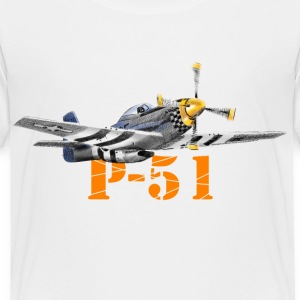 P-51 Mustang Baby & Toddler Shirts - Toddler Premium T-Shirt