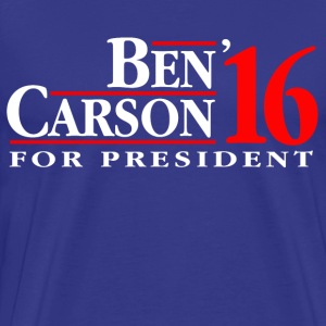 Ben Carson For President T-Shirts - Men's Premium T-Shirt