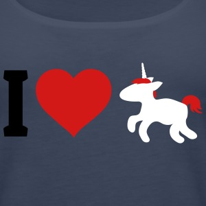 I love Unicorns Tanks - Women's Premium Tank Top