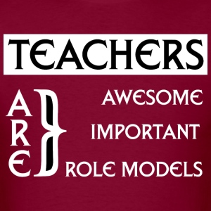 Teachers Are Awesome Mens T-Shirt - Men's T-Shirt