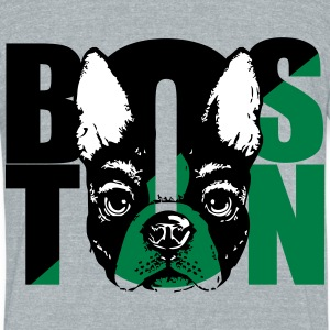 Boston Terrier  - Unisex Tri-Blend T-Shirt by American Apparel