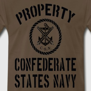 Property Confederate Navy II - Men's Premium T-Shirt