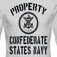 Design ~ Property Confederate States Navy Long Sleeve American Apparel T