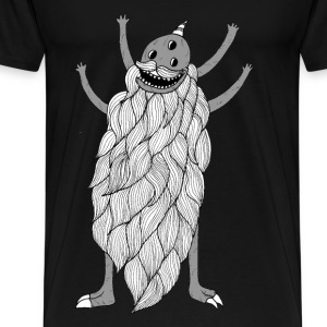 Donald The Beard Monster - Men - Men's Premium T-Shirt